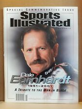 Dale Earnhardt Sports Illustrated Special Commemorative Issue 2/28/01 no label