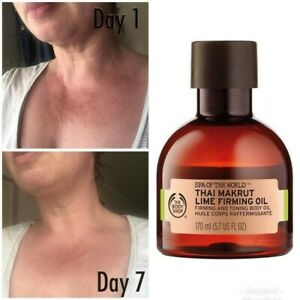 The Body Shop Thai Makrut And Lime Firming Oil