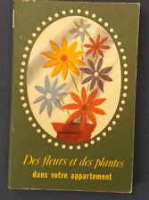 Bibliothèque Franco-Suisse N°1 Des fleurs et des plantes dans votre appartement
