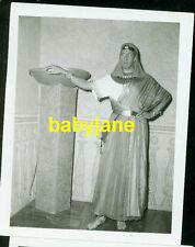 VINCENT PRICE VINTAGE 4X5 WARDROBE TEST PHOTO DEMILLE'S THE TEN COMMANDMENTS