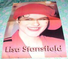 LISA STANSFIELD - ESTONIAN NEWSPAPER EESTI EKSPRESS CENTERFOLD POSTER