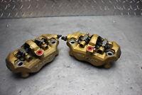 05-06 KAWASAKI NINJA ZX6RR Front Wheel Brake Calipers Set