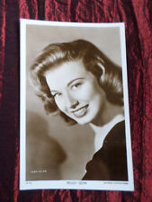 PEGGY DOW - FILM STAR- VINTAGE PICTUREGOER POSTCARD - # W823