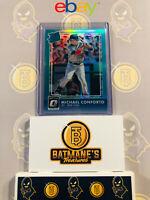 2016 Donruss Optic Michael Conforto #38 156/299 Rated Rookie MINT Baseball Card