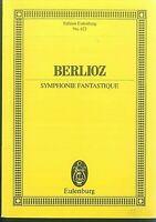 Berlioz : SYMPHONIE FANTASTIQUE  ~ Studienpartitur