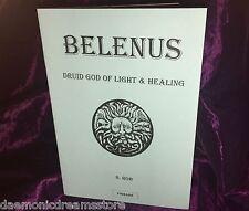 BELENUS Finbarr Grimoire Occult Magick Magic Druid Druidry Witchcraft Wicca