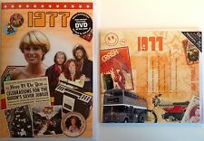 1977 40th Birthday Gifts Set - 1977 DVD , Pop CD and Card - CD Card Company.