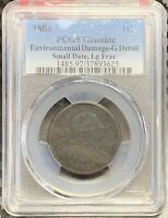 1803 Draped Bust Cent | PCGS G Detail | FREE SHIPPING | 2,500 Survival | 19-17