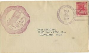 1928 FDC Valley Forge SC# 645 cncl Cleveland Philatelic Sta red Cachet CV50