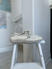 Vintage Vans Made In The Usa White 9.5 Sneakers Lace Up