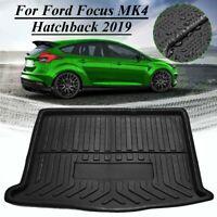 Kofferraumwanne Laderaumwanne Gummimatte Für Ford Focus MK4 Hatchback 2019+