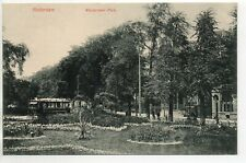 PAYS BAS Nederland Hollande - ROTTERDAM - old postcard tramway Westerlaan Park