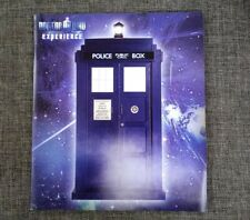⏲ RARE UK  - Doctor Who Experience - LONDON 2011 Brochure Guide Book