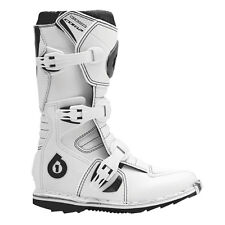 NEW 661 SIXSIXONE COMP YOUTH BOOTS MX OFF-ROAD KIDS BOOTS WHITE SIZE 5 $109.99