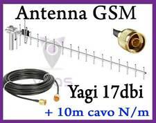 Antenna Yagi GSM 17dbi Direttiva ripetitore amplificatore GSM Anytone 10m cavo i