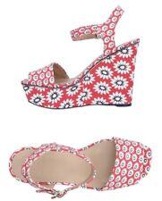 Tory Burch Women Shoes Size 8.5 NIB Platforms Sandals Floral