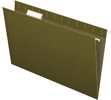 Hanging Organizer File Cabinet Folders Letter Size Green 25 Pack Folder Hange