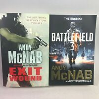 2 Andy McNab Books Bundle - Exit Wound & Battlefield 3