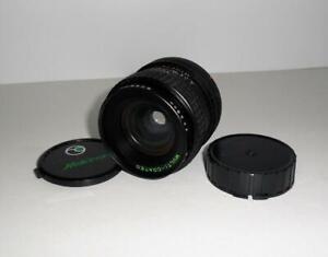 Makinon Auto 28mm 1:2.8 Multi-Coated D=55mm Lens FD mount Canon SLR film cameras