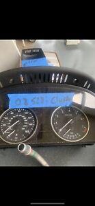 08-2010 bmw e60 528xi 525xi 535i 535xi speedometer instrument cluster gauges