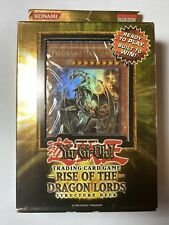 Yu-Gi-Oh Rise Of The Dragon Lords Structure Deck Sealed