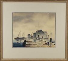 John Cuthbert Hare (American,1908-1978) Original Watercolor Painting Signed