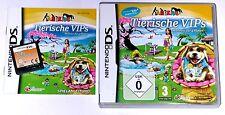"Nintendo DS juego ""Animal VIP 's wellness a 4 patas perros, gatos"" completamente"