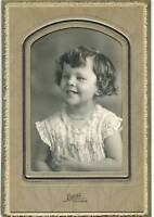 "Antique Photo - Adorable Little Girl W/Necklace 6""x8"""
