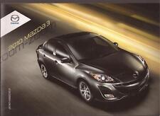 2010 10 Mazda 3 Series Original sales brochure MINT