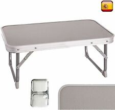 Table de Plage Camping Piscine Terrasse Lit Pliante en Aluminium Portable