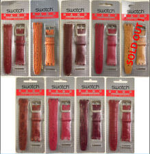 SWATCH IRONY BAND LEATHER STRAP - CHRONO SCUBA 200 SISTEM51 - 19MM - BLISTER
