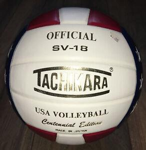USA Tachikara Centennial Edition leather volleyball
