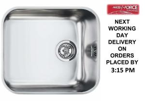 Smeg Alba (UM45) 1.0 Single Bowl 45cm Stainless Steel Undermount Sink -Brand New