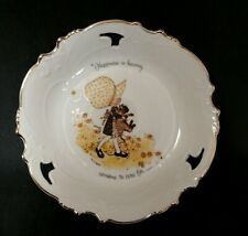 Holly Hobbie 1973 Collector Plate_World Wide Arts_Cleveland_Oh American Greeting
