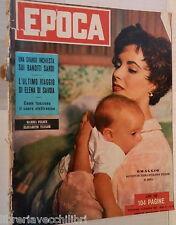 EPOCA 6 dicembre 1953 Elizabeth Taylor Banditismo sardo Francoise Gilot Calvi di