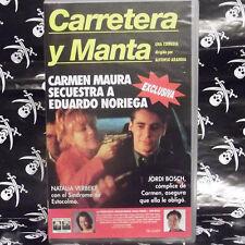 CARRETERA Y MANTA (Alfonso Arandia) VHS . Carmen Maura, Eduardo Noriega, Natalia