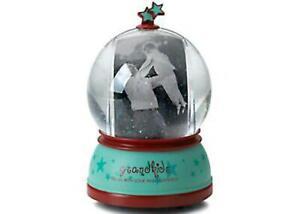 GRAND KIDS Wind Up Musical Photo Water Globe Snowdome NWOB
