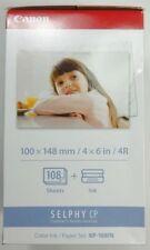 CANON KP-108 recharge papier et encre pour imprimante Selphy