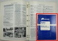 Fiat-Allis Fiatallis FL4-L Laderaupe Bedienungsanleitung Betriebsanleitung 1980