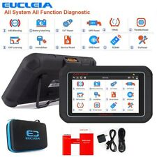 EUCLEIA S7C Full System OBDII Scanner Auto ABS EPB CVT SAS SRS Oil Reset Tablet