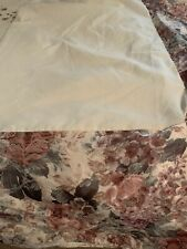 "CROSCILL COTSWOLD CINNAMON FLORAL CREAM GREEN KING BEDSKIRT 14"" DROP"