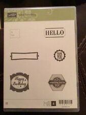 """Stampin' Up! """"Label Something"""" Stamp Set #130598"""