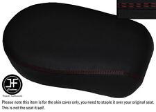 DARK RED DS STITCH VINYL CUSTOM FOR YAMAHA XVS 650 CLASSIC VSTAR REAR SEAT COVER