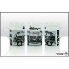 VOLKSWAGEN Bone China Mug Campervan Type 2 Samba Licensed VW Green Pk2