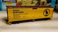 HO Athearn Great Northern reefer boxcar 40' western fruit Express