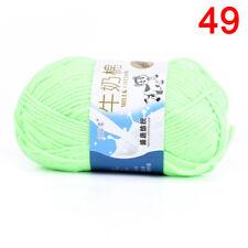 Cotone multicolore cotone a mano intrecciato a mano di cotone a filo di lana