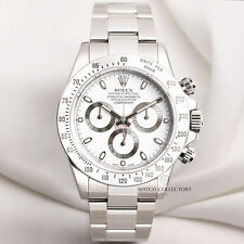 Rolex Daytona 116520 Stainless Steel Discontinued full set