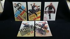 SKYBOURNE FULL RUN ISSUES 1-5 BY FRANK CHO!!