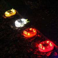 2 in 1 LED Solar Unterirdisches Licht Wasserdriftlicht Wasserdicht ABS Garten DE