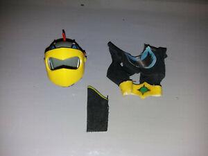 RARE: Goldorak poupée actarus CEIJ, accessoires (casque, veston, manchette)